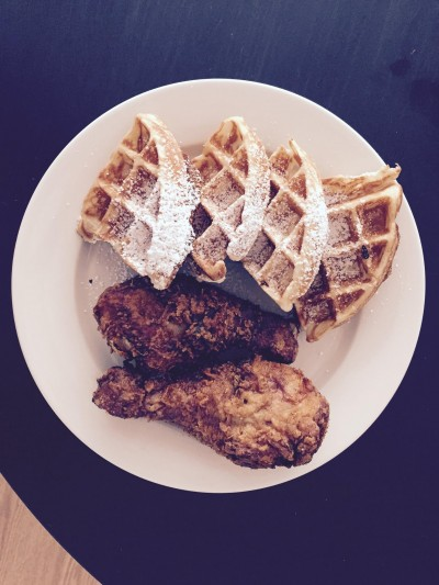4Chicks famous chicken and waffles