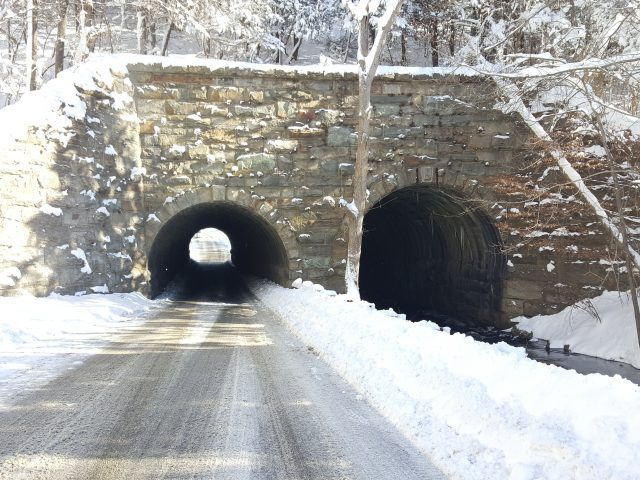 Backwards Tunnel aka Ogdensburg Rail Arch