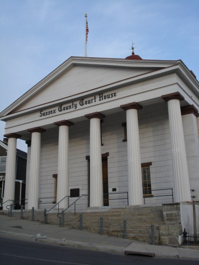 Sussex County Courthouse, taken April 2008